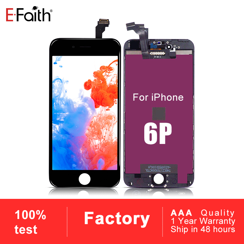 20 PCS LOT AAA Display Or Screen for iPhone 6 plus 6P LCD replacement assembly with