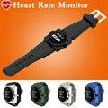Квадратные Металлические Подключение Bluetooth Smart Watch Smartwatch Водонепроницаемый Монитор Сердечного ритма Музыки Управления Смарт-Часы для Android iOS
