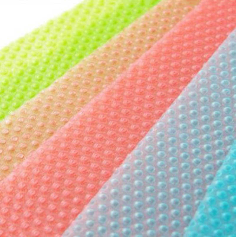 Fridge Waterproof Mats Refrigerator Pad Antibacterial Antifouling Mildew Moisture Tailorable Pad Kitchen Accessories Decoration