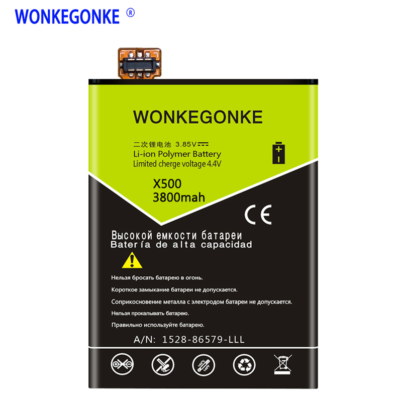 WONKEGONKE for Bluboo Xtouch X500 mobile phone battery with tracking number