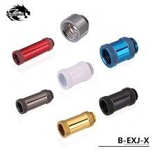 Bykski B-EXJ-7.5mm-50mm штекер-f-удлинитель фитинги бутик Алмазный Узор G1/4 мужские фитинги с внутренней резьбой стиль водяного охлаждения