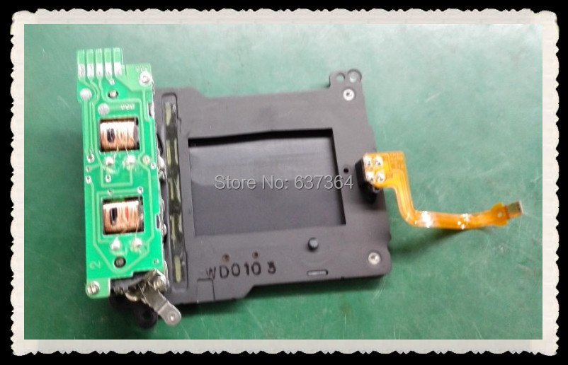Shutter Unit Component with Blade Assembly Repair Part for Canon 1D Mark III 3 1D3 Camera a camera with its shutter open учебное пособие