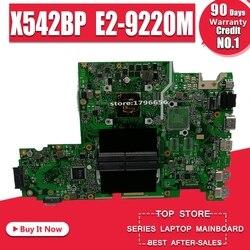 X542BP laptop płyta główna For Asus X542B X542BP A580B K580B płyta główna 100% test 4GB RAM E2-9220M CPU