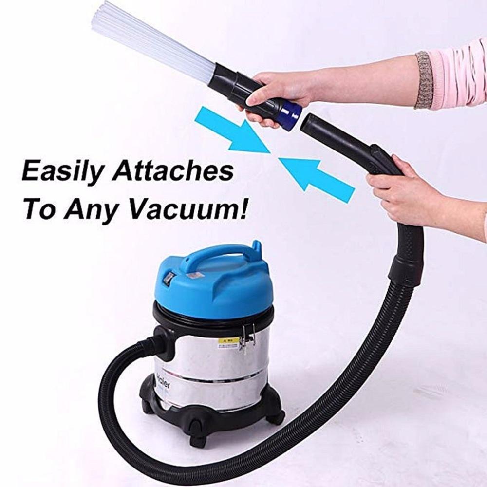 Limpiador De Polvo Tubos De Paja Para El Hogar Removedor De Polvo Portátil Universal Herramientas De Vacío Accesorio De Suciedad Limpia