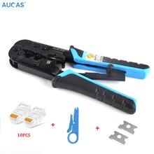 Aucas 4P/6P/8P Professional Network Cable rj45 rj11 Wire Cab
