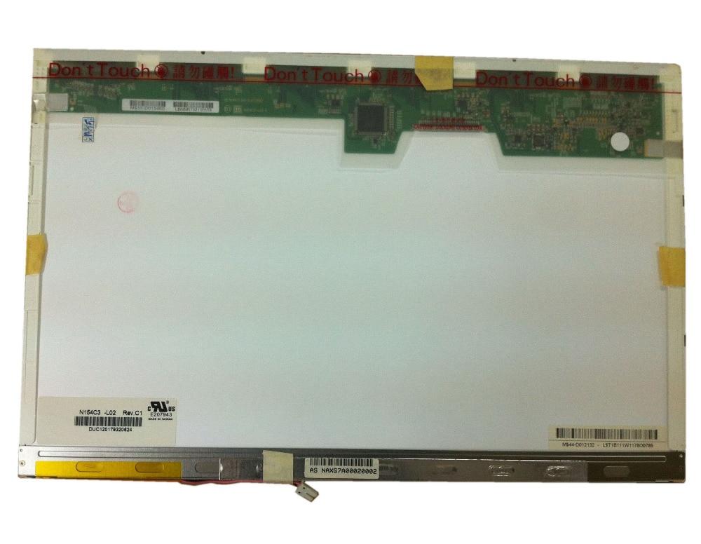 N154C3-L02 fit B154PW02 V.2 B154PW01 V.0 V.1 N154C1-L02 CLAA154WP04A CLAA154WP01A 1440X900 1 CCFL LCD SCREEN 30 PIN laete l02 142