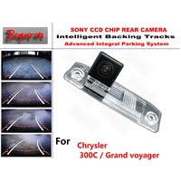 for Chrysler 300C / Grand voyager CCD Car Backup Parking Camera Intelligent Tracks Dynamic Guidance Rear View Camera
