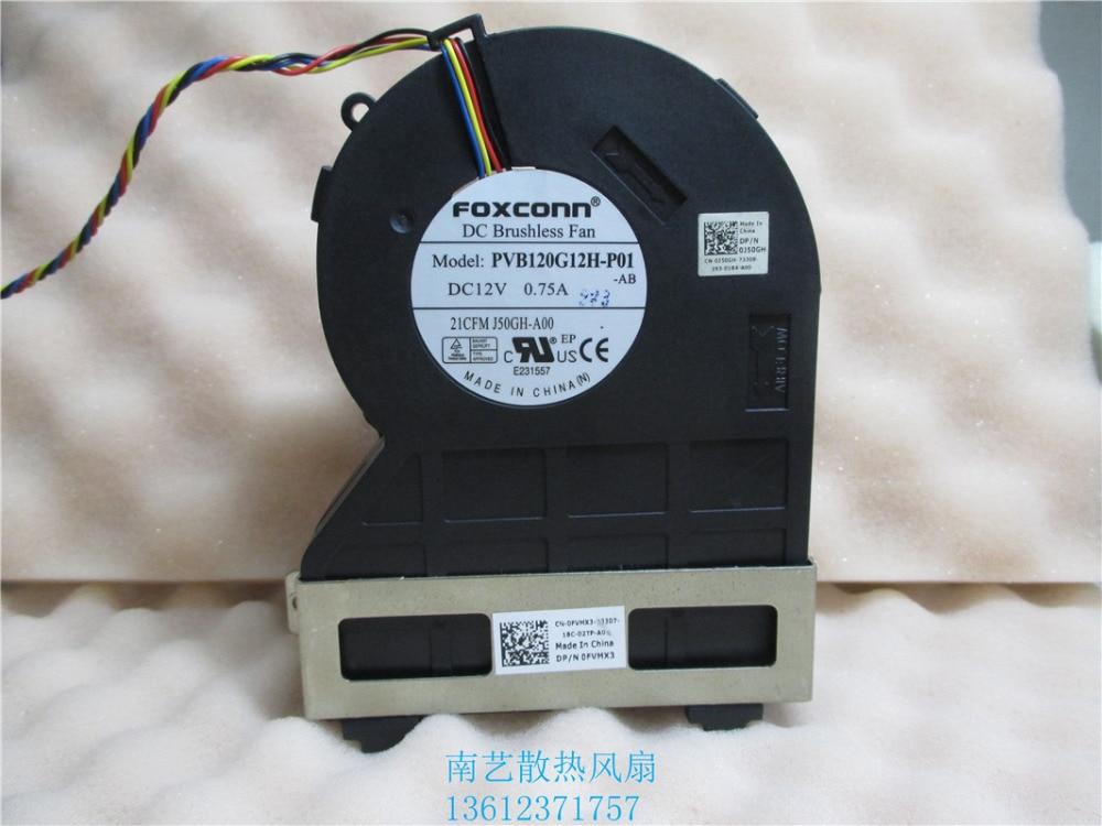 brand new Foxconn PVB120G12H P01 J50GH A00 12V 075 4Wire