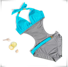 CV Hot Selling One Piece Swimsuit Women Q014