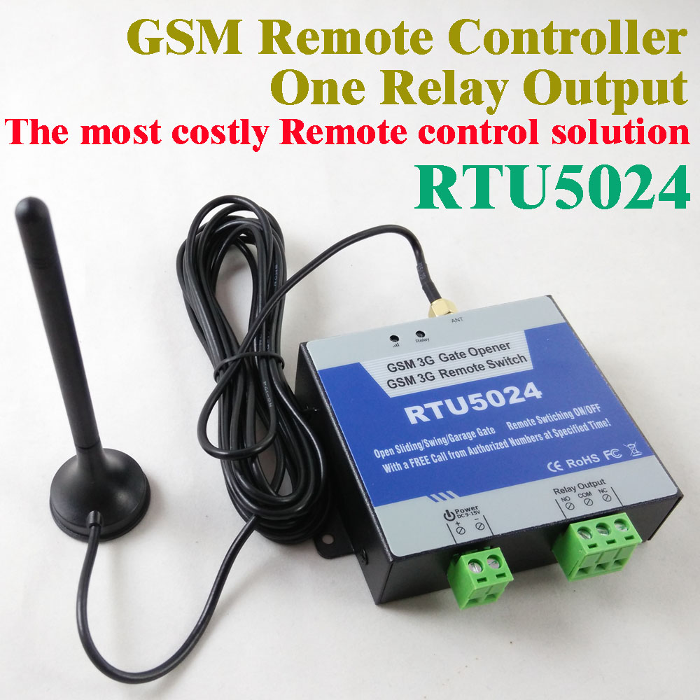 Smart home automation gsm switch relay controller sms call remote control light water pump motor generator gsm sms remote controller