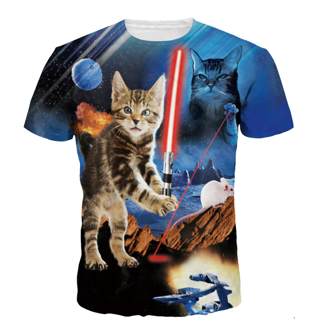 Amazing Collection of 3D T-Shirts With Cats