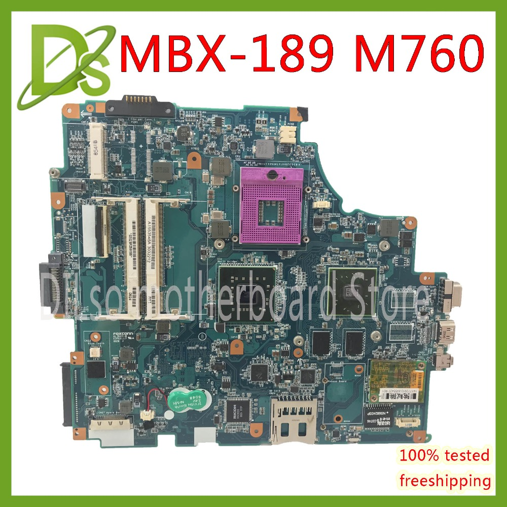 KEFU M760 mainboard For SONY mbx-189 m760 rev 1.1 laptop motherboard  Test work 100% original