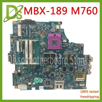 KEFU M760 mainboard For SONY mbx-189 m760 rev 1.1 laptop motherboard  Test work 100% original