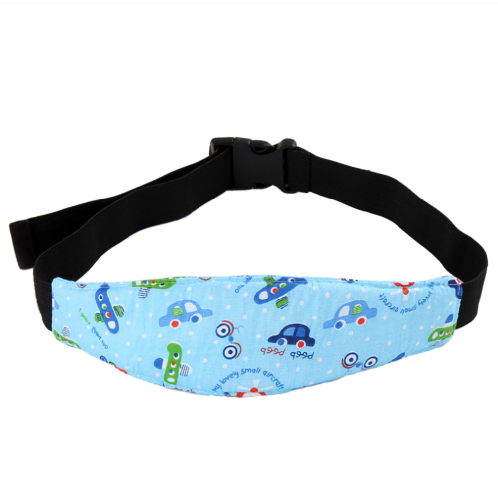 Random Patterns Infants Baby Head SUpport Pram Stroller Safety Seat Fastening Belt Adjustable Playpens Car Safety Seat Sleep P