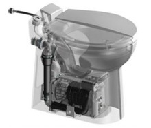 600W SMART macerator toilet pump 230 V 50 HZ