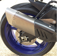 Motorcycle Exhaust For Yamaha R6 R1 FZ1 FZ6 model Muffler GP Carbon dB killer Akrapovic Exhaust Tip Escape Pipe Tube Accessories