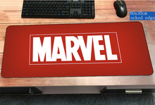 Marvel Comics logo mouse pad 800x300x2mm Fashion pad to mouse computer mousepad HD pattern gaming padmouse gamer to mouse mat