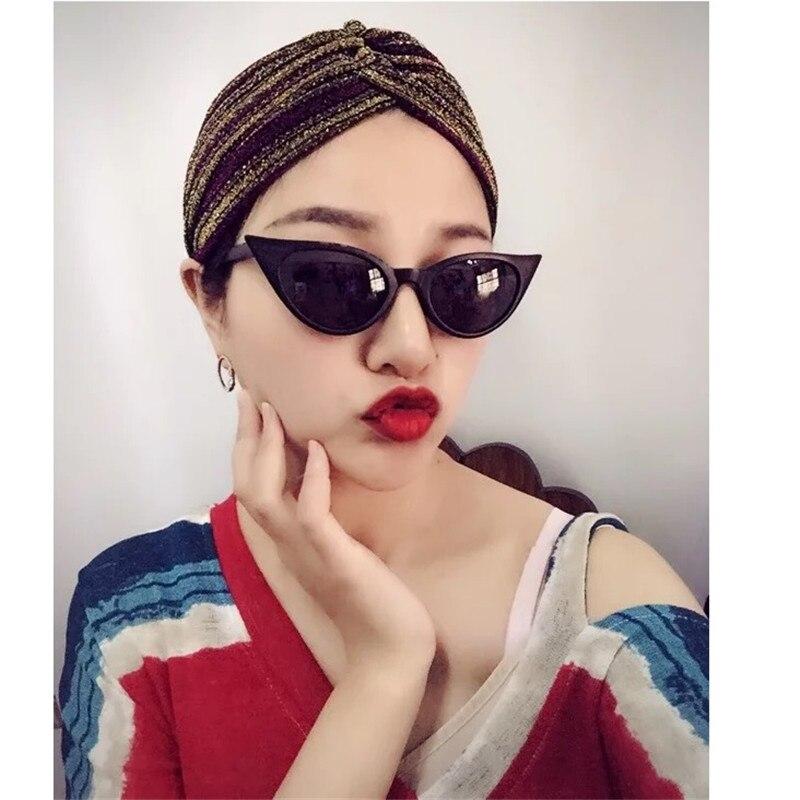 Vazrobe cat eye lunettes de Soleil Femmes steampunk Vintage cateye Lunettes de Soleil pour femme petit/grand pas cher Rétro Noir femme shades