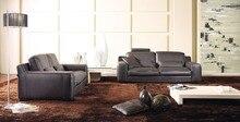 Salón sofás de cuero 8246 de la alta calidad sofá de cuero moderno sofá de la sala de estar muebles para el hogar muebles