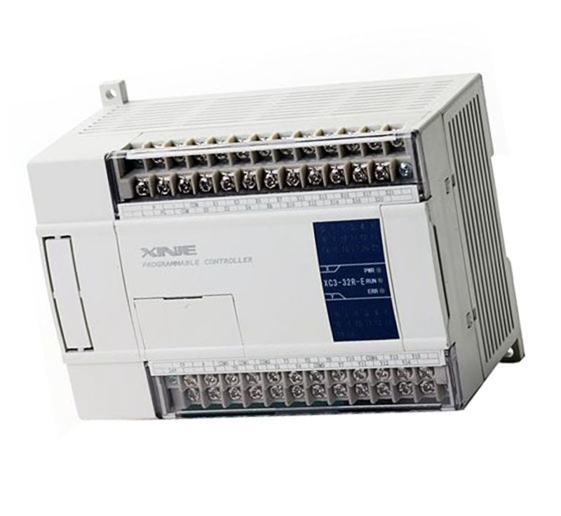 NEW XC3-32T-C PLC CPU DC24V 18 DI NPN 14 DO Transistors xc3 24r c plc cpu dc24v 14 di npn 10 do relay with new original