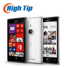 Free gift!Original Nokia Lumia 925 Dual Core 16GB 8.7MP Camera 4.5inch Touch Screen Microsoft Refurbished Windows 8 Smart Phone