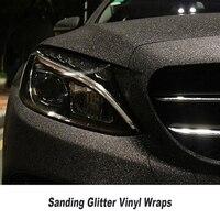 Черная блестящая Алмазная пленка для автомобиля, наклейка, шлифовальная виниловая пленка для грузовика, мотоцикла, автомобиля, стикер для т