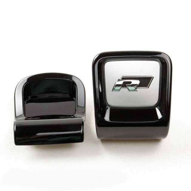 Para New beetle OEM coche de Dirección de la rueda de metal Rline R logo Insignia de reposición 5C0 948 685 C