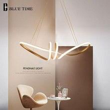 цена New Design Golden Body Hanging Lamp Modern LED Pendant Lights For Living Room Bedroom Dining Room LED  Pendant Lamp Home Fixture онлайн в 2017 году