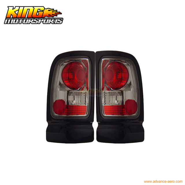 For 1994 2001 Dodge Ram 1500 2500 3500 Tail Lights Chrome 95 96 Usa Domestic Free Shipping