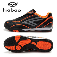 TIEBAO Brand Professional Kids Football Shoes Boys Girls Boots Sneakers Outdoor Sport Football Boots TF Sole