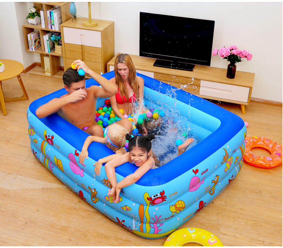 Inflatable Baby Swimming Pool Piscina Portable Outdoor Indoor ...