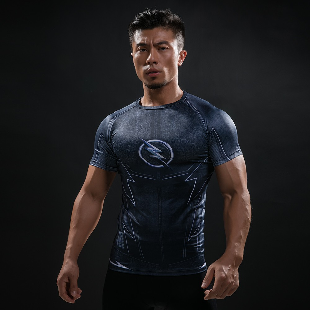 Punisher 3D Printed T-shirts Men Compression Shirts Long Sleeve Cosplay Costume crossfit fitness Clothing Tops Male Black Friday 36