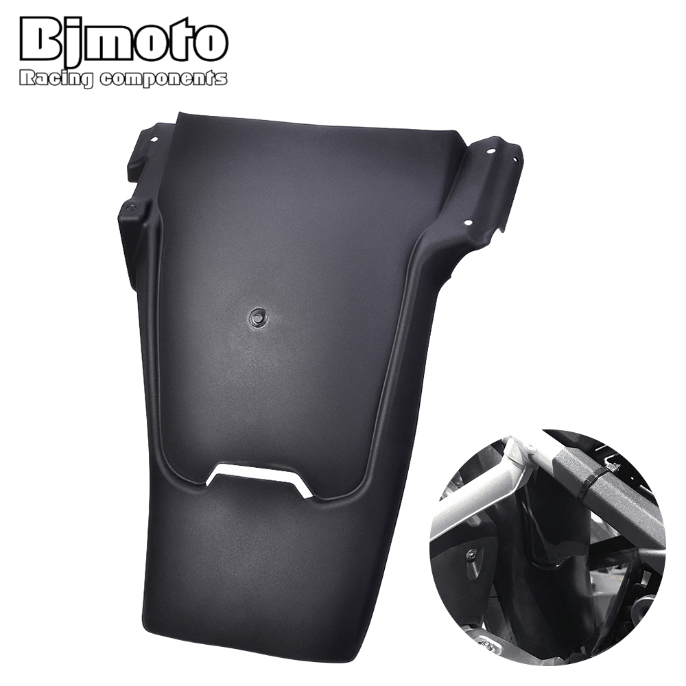 Bjmoto motorcycl Black Rear Tire Hugger Fender Mudguard Extensions For BMW R1200GS LC 2013 2014 2015 2016 2017 moto Rear Fender motoo for yamaha mt07 mt 07 2013 2017 fz07 2015 2016 2017 cnc aluminum rear tire hugger fender mudguard chain guard cover