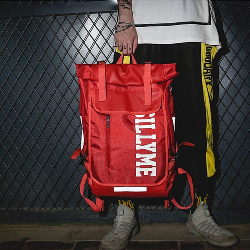 Hip hop Style Unisex Backpack Street Fashion Harajuku Letter Print Travel Bag Sports Backpack 1