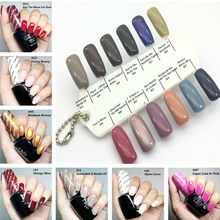 15ml Iceland Collection Gelcolor UV LED Gel Polish Vernis Semi Permanent Lasting Shine Nail opies Gel Varnish Lacquer Varnishes