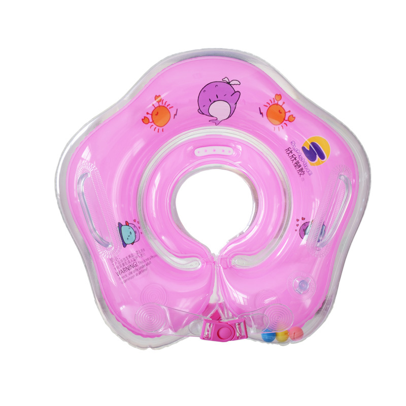 2019 Baby Neck Float Swimming Newborn Baby Swimming Neck Ring With Pump Gift Mattress Cartoon Pool Swim Ring For Baby Accessories Activity & Gear