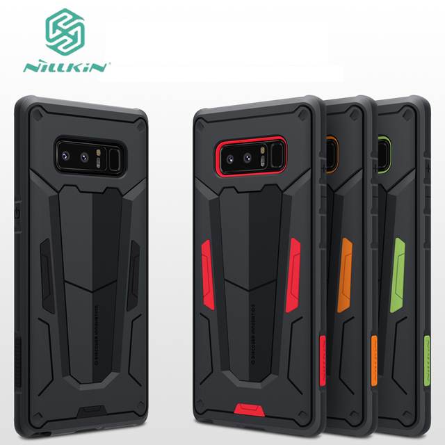 new concept 35f95 08738 US $9.89 10% OFF|for Samsung galaxy Note 9 8 case Nillkin Defender 2 Luxury  Note 9 TPU+PC Armor Phone Back Cover For Samsung Note 9 Note 8 Case-in ...