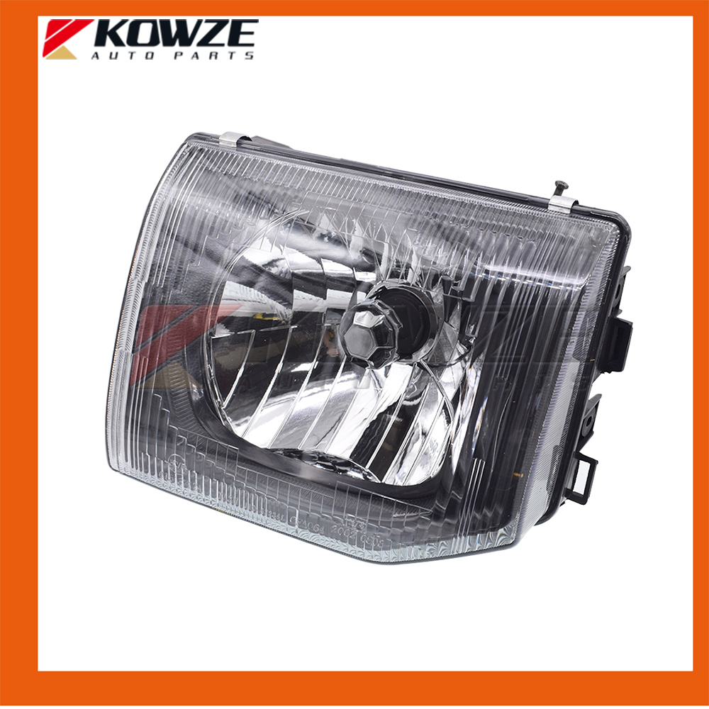 2PCS Left & Right Headlamp Body For PAJERO MONTERO II 2nd 1990.12 - 2004.04 MR387533 MR387534 new 2pcs female right left vivid foot mannequin jewerly display model art sketch