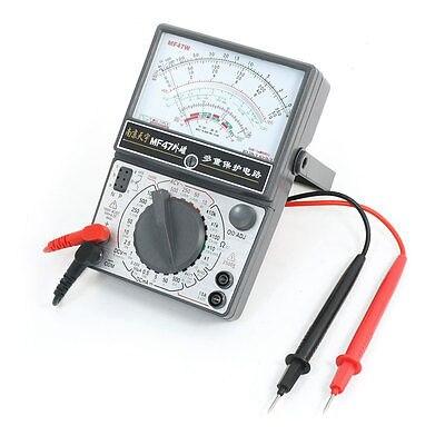 Electrical MF47 Current Resistance AC/DC Volt LV/LI Testing Pointer Multimeter