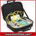 KomShine KQX-30 OTDR De Fibra Óptica Kit de Prueba de Pérdida incluyendo QX30 1550nm OTDR 30dB + Medidor de Potencia Óptica + Luz Óptica fuente + VFL