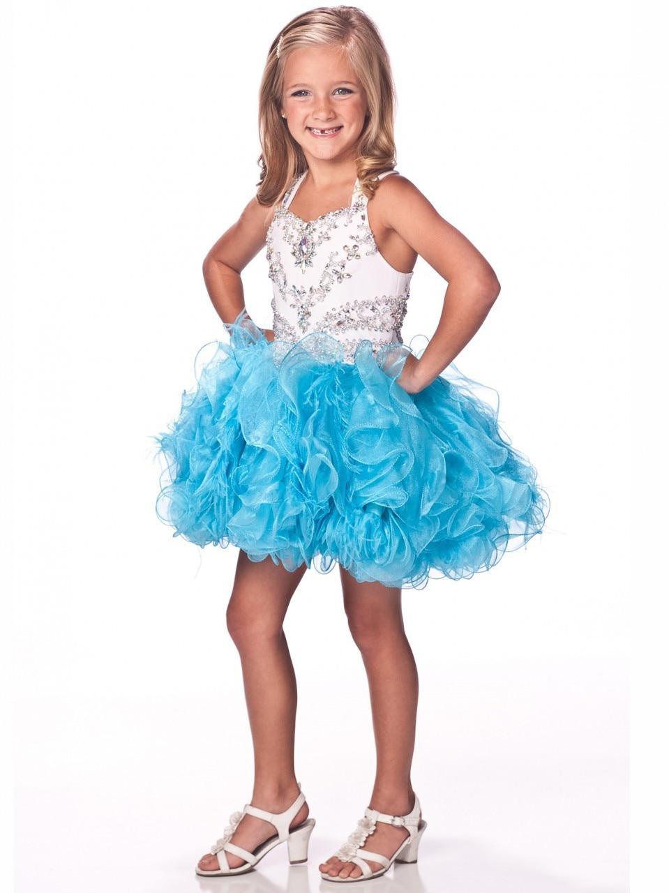 Aliexpress.com : Buy cupcake glitz girls short pageant dresses ...