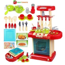 Free Ship Funny Electronic Classic Pretend Play Musical Multifunctional Kitchen Tableware Learning & Education Toys With no Box