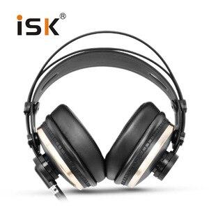 Image 2 - Genuine ISK HD9999 Pro HD Monitor auriculares totalmente cerrado monitoreo auricular DJ/Audio/mezcla/grabación Studio auriculares hd681 evo