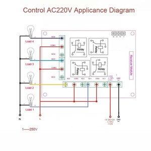 Image 5 - רגישות גבוהה עבור DC 12 V הקטן 4CH ערוץ אלחוטי שלט רחוק מתג רדיו בקר משדר 315 mhz 200 m מקלט