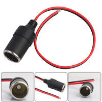 VODOOL 30cm 12V 10A Max 120W Car Cigarette Lighter Charger Cable Female Socket Plug High Quality Car Cigarette Cable Accessories