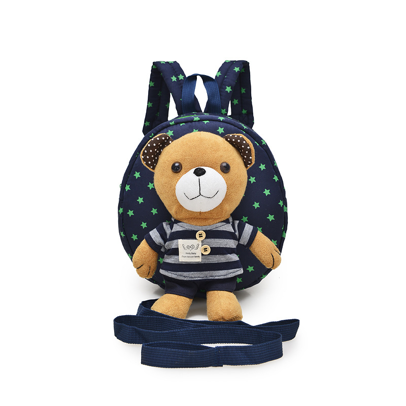 Luggage & Bags New Cute Kids Plush Backpack Toy Mini Cartoon Bear School Bag Gifts For Kindergarten Baby Boy Girl Anti-lost Candy Bags School Bags
