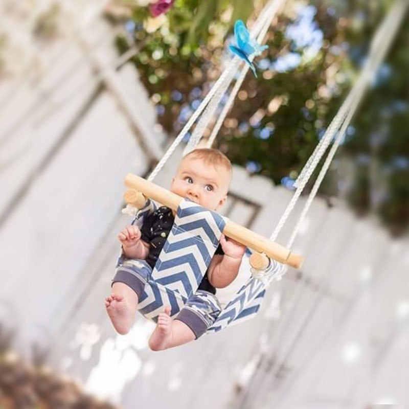 Новый дизайн уличная игрушка детский Гамак Крытый сад спальни висячий стул маленькая качающаяся корзина качалка стул