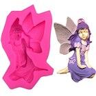 Cute fairy female an...