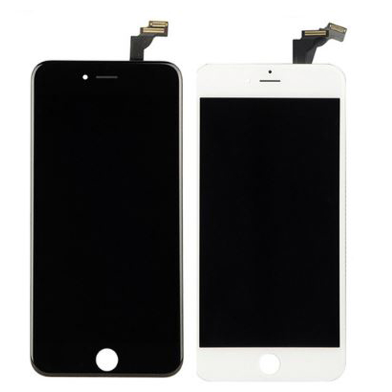 Grade AAA No Dead Pixel For iPhone 6 Plus LCD Display With Touch Screen Digitizer Assembly Black&White Free Shipping 5pcs lot grade aaa no dead pixel for iphone 6 plus lcd display with touch screen digitizer assembly black