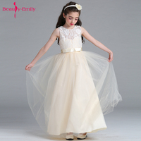 Backlake Girls Hot Sale Princess Style Dress For First Communion Mulity Color Tulle Lace With Bow